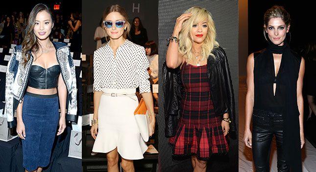 26 Famosas que probablemente veremos en el 'Fashion Week' de NY