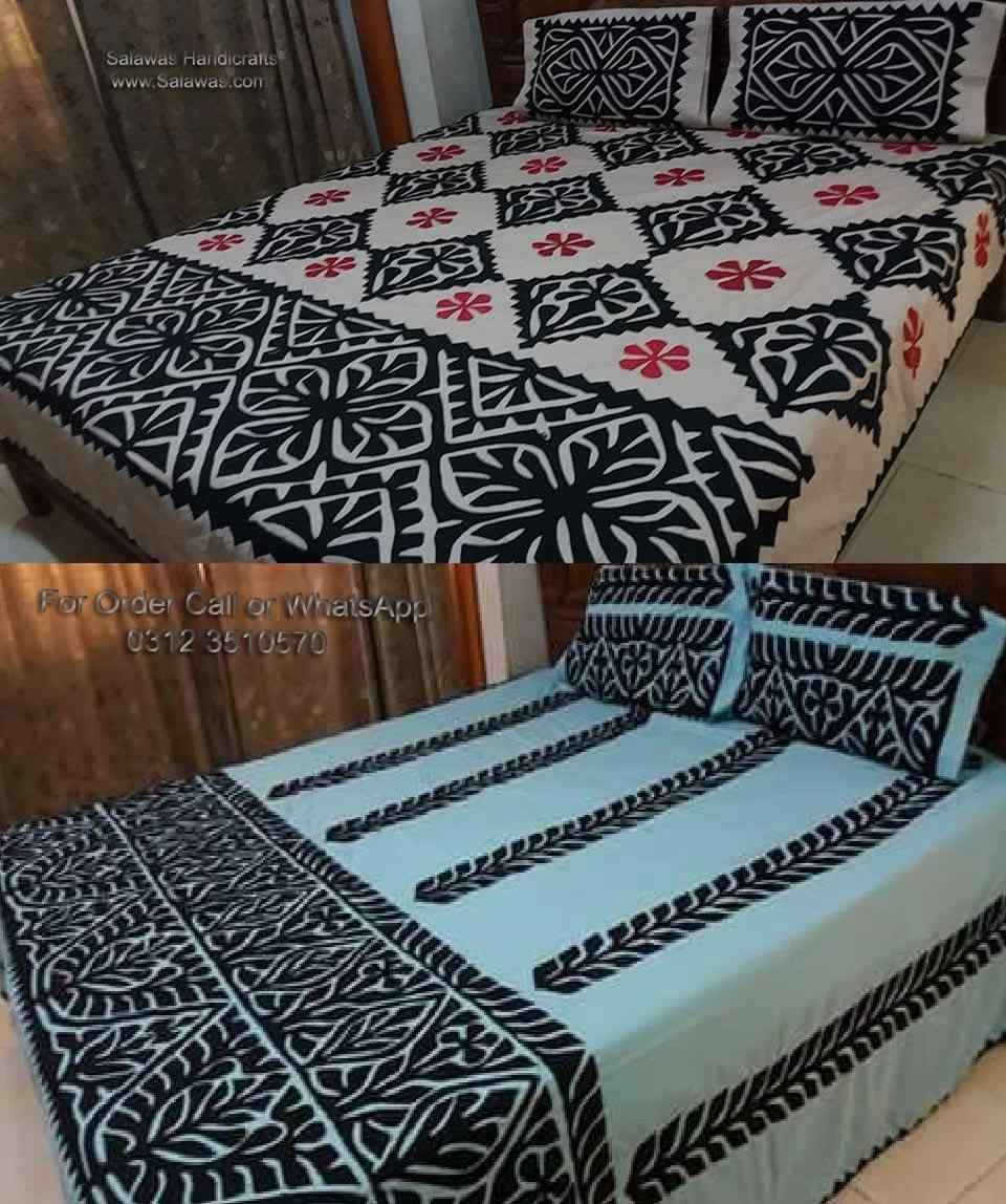 Explore Handmade Bed Sheets India Like Patch Work Applique Bed