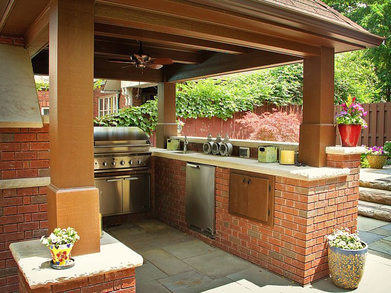 Pincarol Simpson On Outdoor Kitchen  Pinterest  Outdoor Enchanting Patio Kitchen Designs Decorating Design