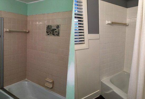 Ganz einfach Fliesen streichen mit Kreidefarbe   MissPompadour   Fliesen streichen, Badezimmer ...