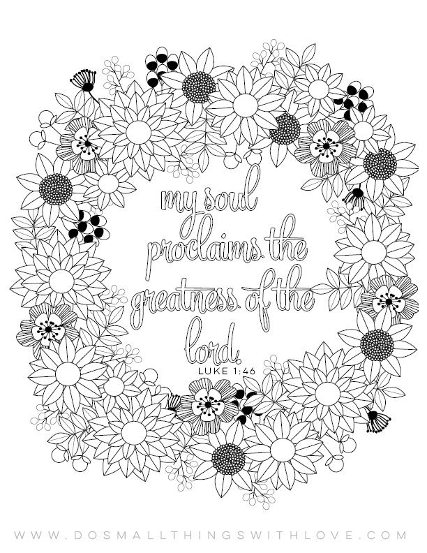 Magnificat Catholic Moms Coloring Page Mom Coloring Pages