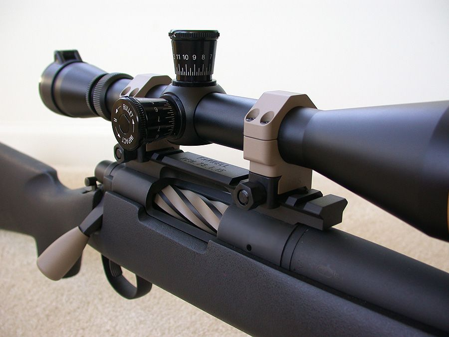 Remington 700 TWS - Custom bolt and bolt handle   very nice work