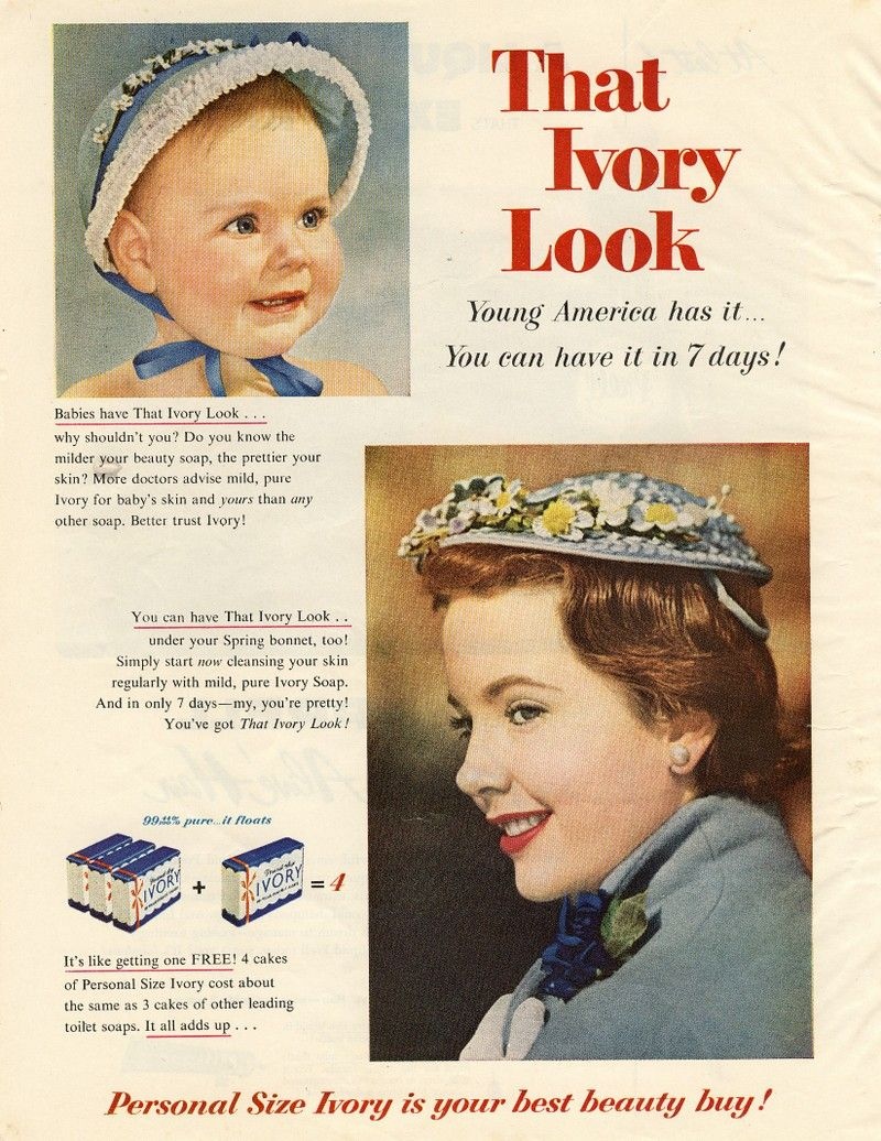 Beauty Soap Advertisement Poster