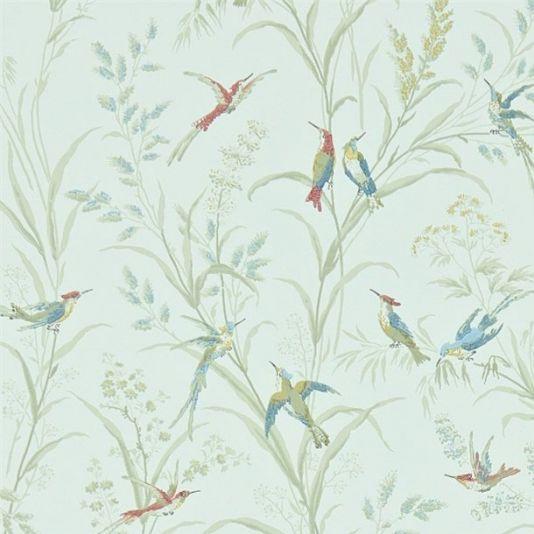 Tuileries Wallpaper | Sage | Sanderson