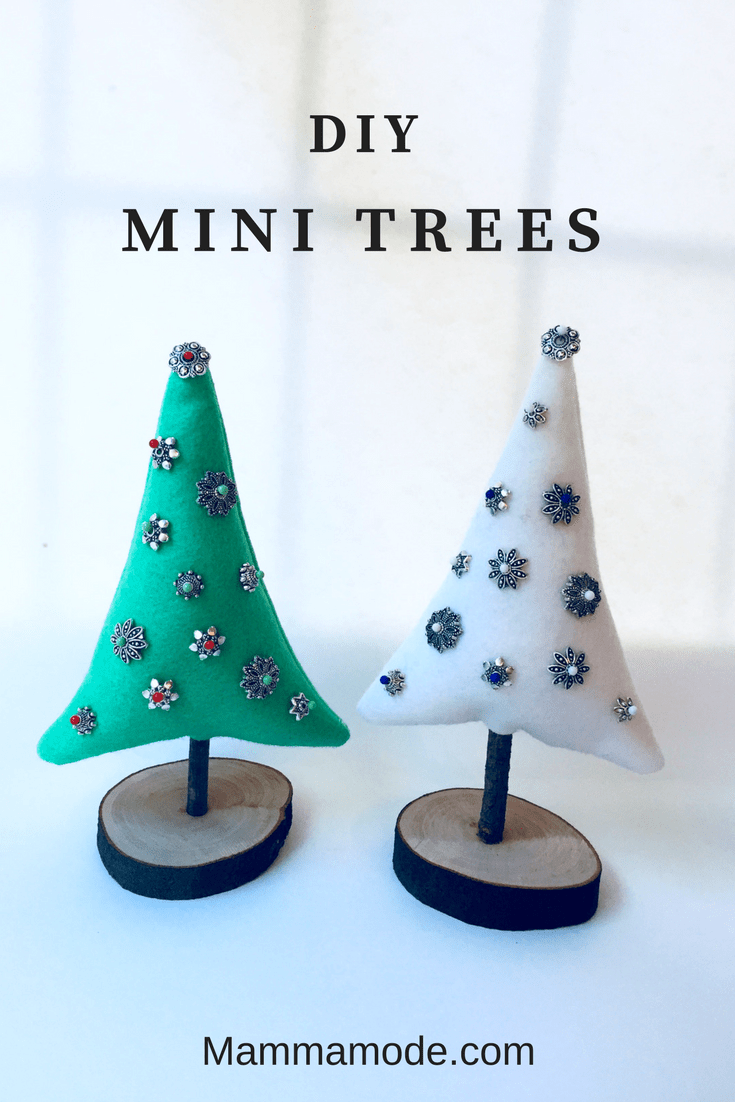 Mamma Mode A Life Style Blog That Serves As A Resource For The Modern Mamma Diy Felt Christmas Tree Felt Diy Mini Christmas Tree