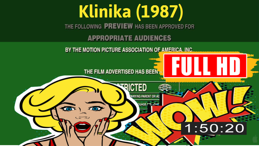 Watch Klinika (1987) Movie online : http://movimuvi.com/youtube/NENhRW9mOThBK2tpeFhJSGNmMDJnZz09  Download: http://bit.ly/OnlyToday-Free   #
