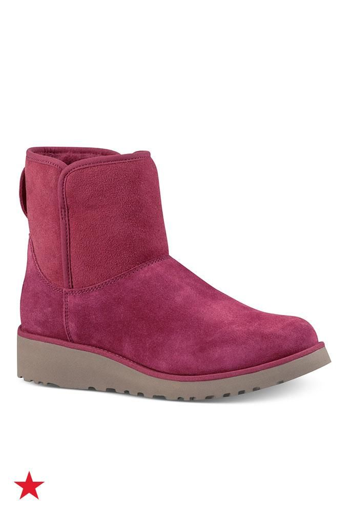 2688c4808 Try a pair of these new UGG boots, designed to have a more traditional fit  than the classic UGGs. Wear with or without socks and you'll feel like  you're ...