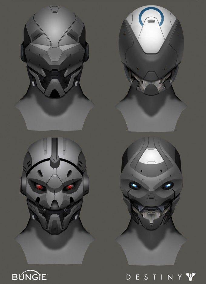 Destiny Concept Art By Adrian Majkrzak Mechamechaz Concept Art