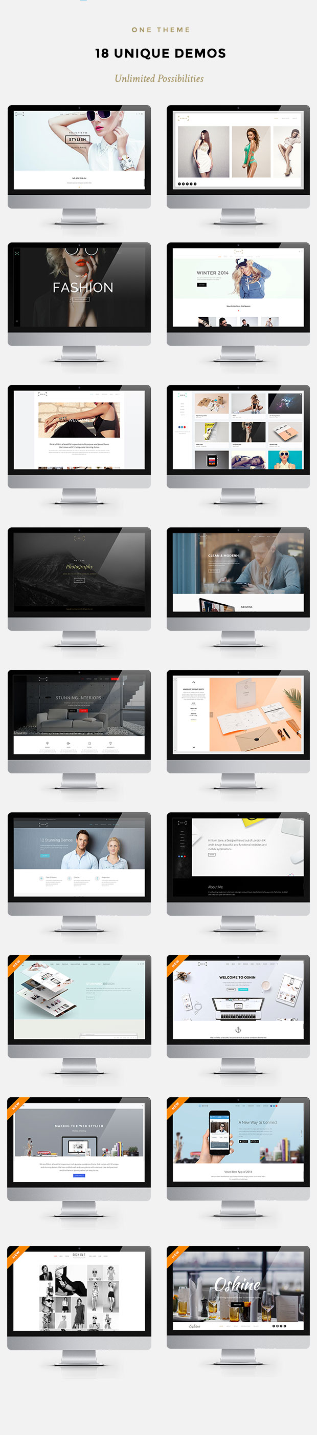 Oshine - Creative Multi-Purpose HTML Template | Purpose and Creative