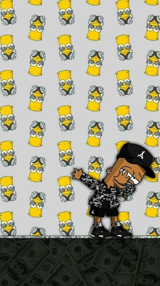 Pin By Katia Magallanes On The Simpsons The Simpsons Supreme Wallpaper Bart Simpson