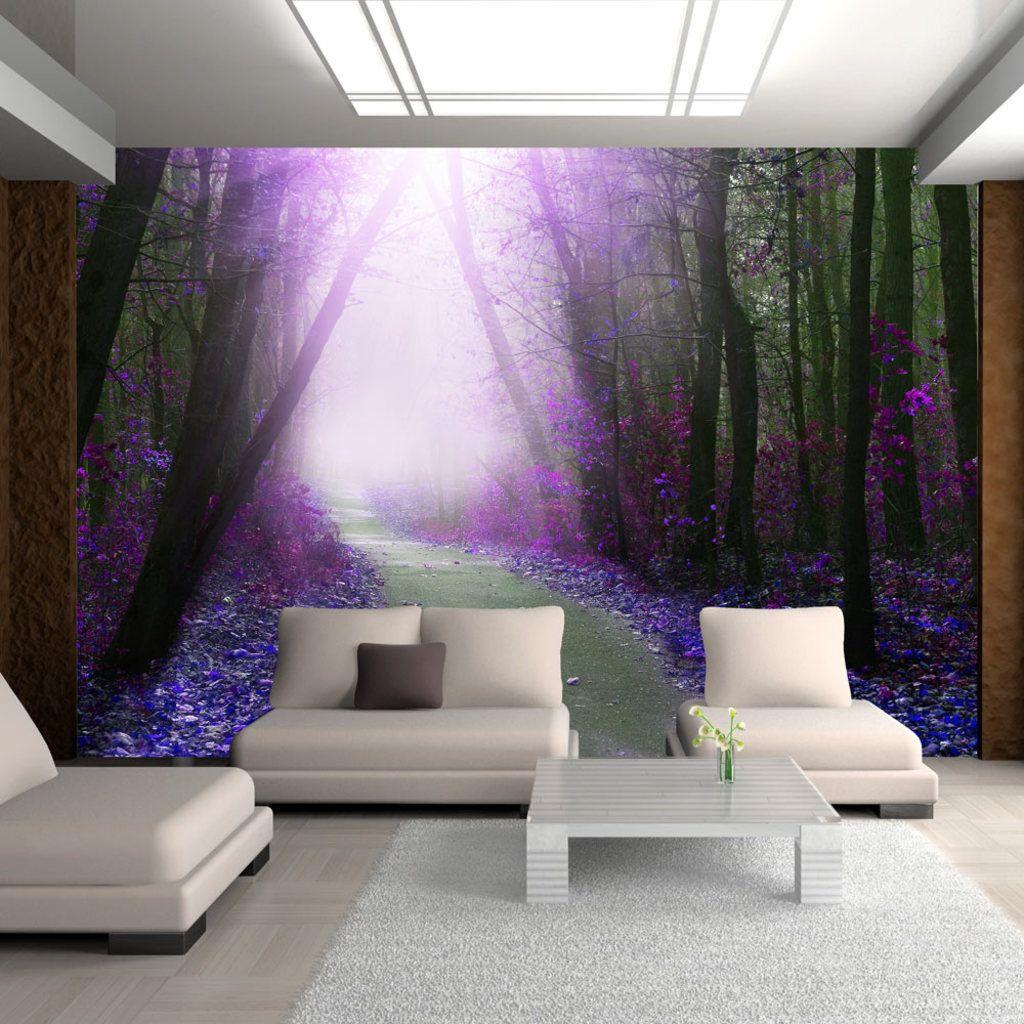 Hochwertig Fototapete ! Wandbilder XXL ! 400x280 Cm NATUR WALD PARK BÄUME