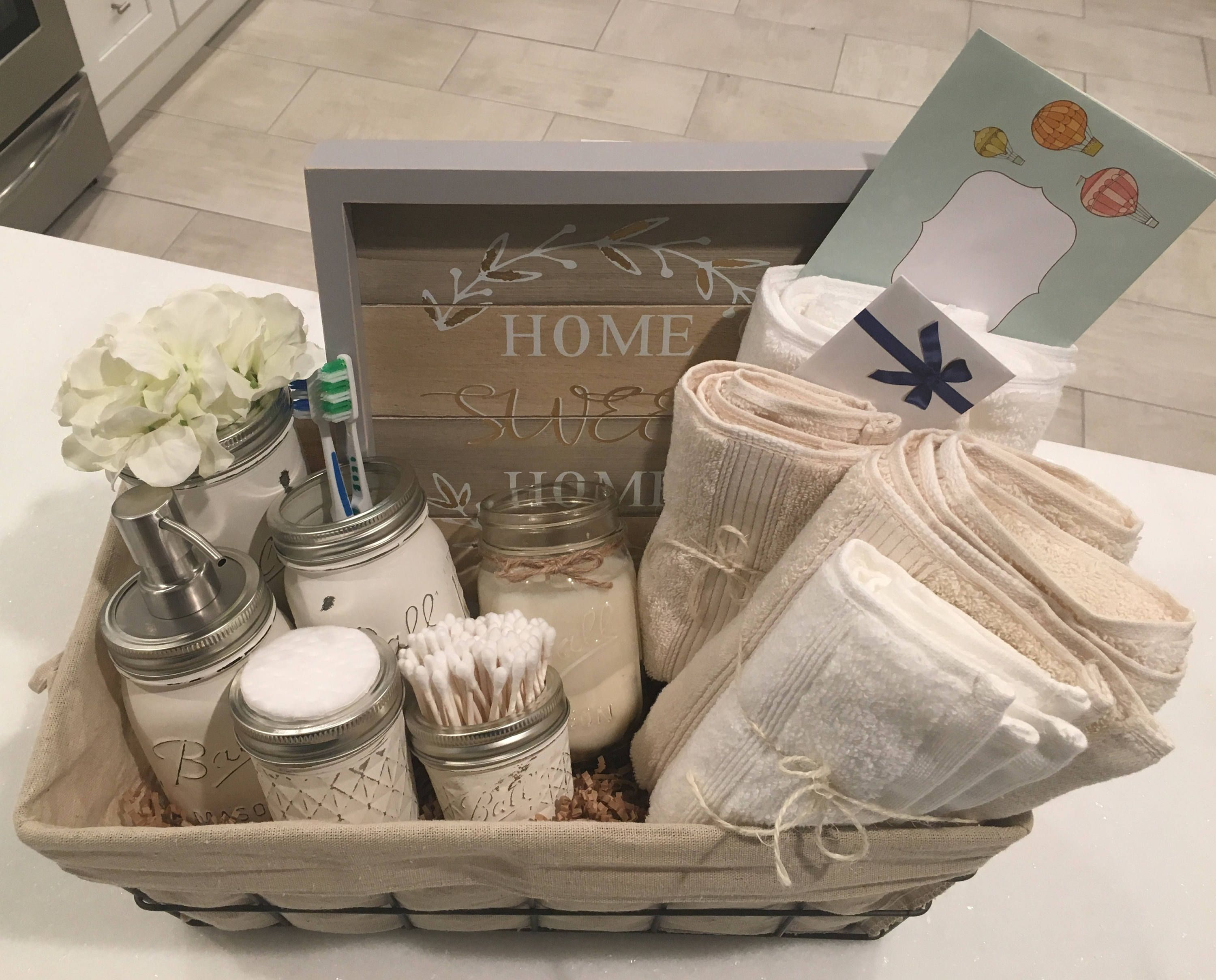 Closing Basket Housewarming Basket Wedding Gift Bathroom Etsy Bathroom Gifts House Warming Gifts Housewarming Basket