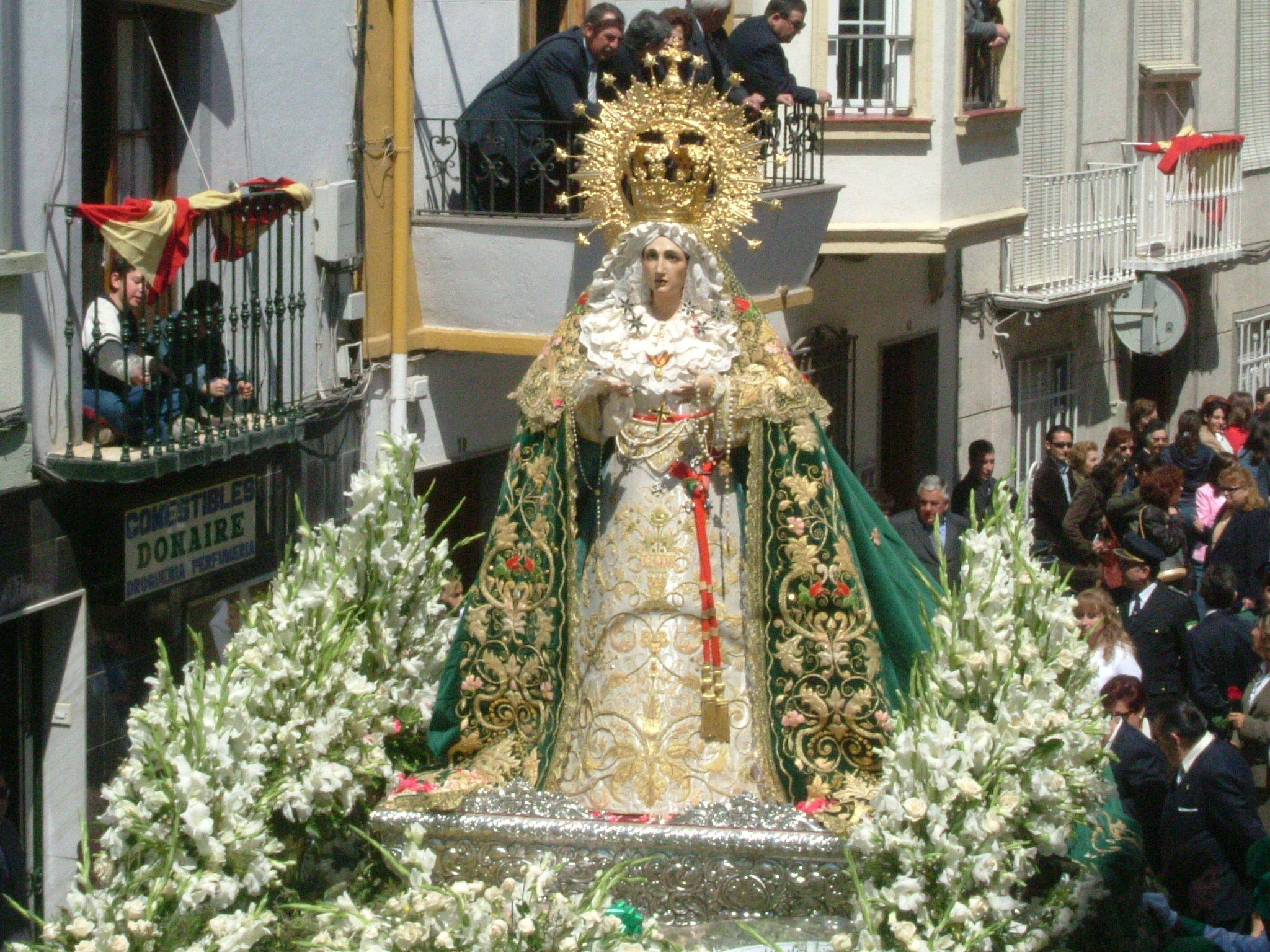 imagen de maria santisima de la esperanza de Martos