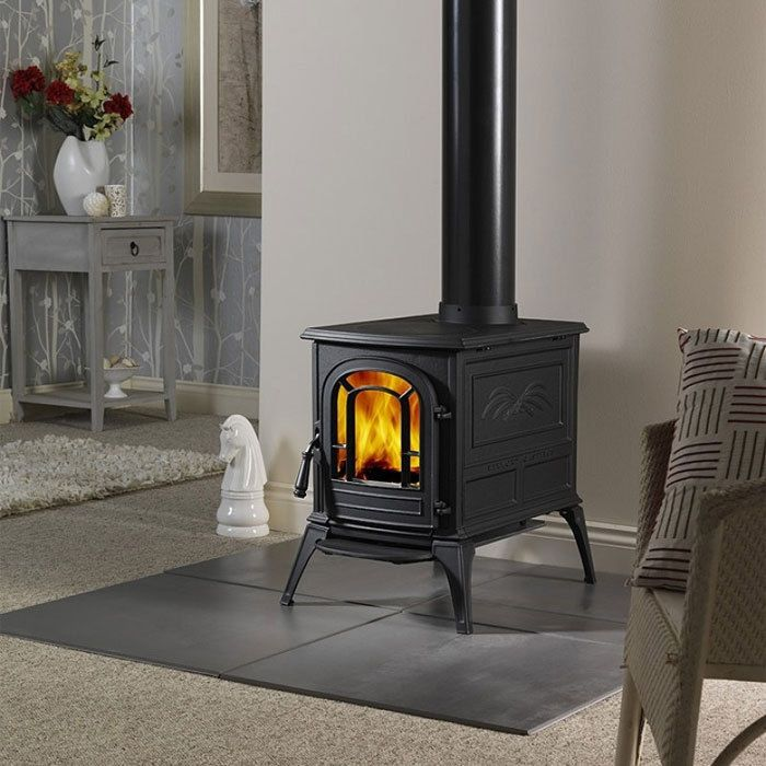 Vermont Castings Aspen Classic Black Cast Iron Wood Stove Efficient Deep  Narrow #VermontCastings