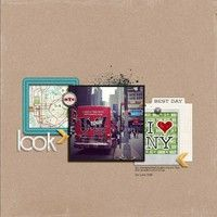 LOOK by Laura ODonnell from our Scrapbooking Gallery originally submitted 06/11/13 at 03:37 AM