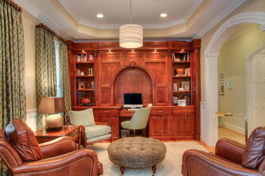 Beautiful office built in. Beautiful office, Home and
