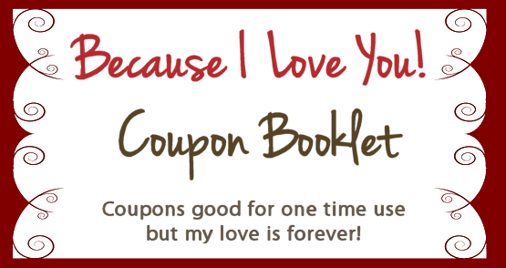 Create Your Own Valentines Coupon Booklet For Free  Frugal And