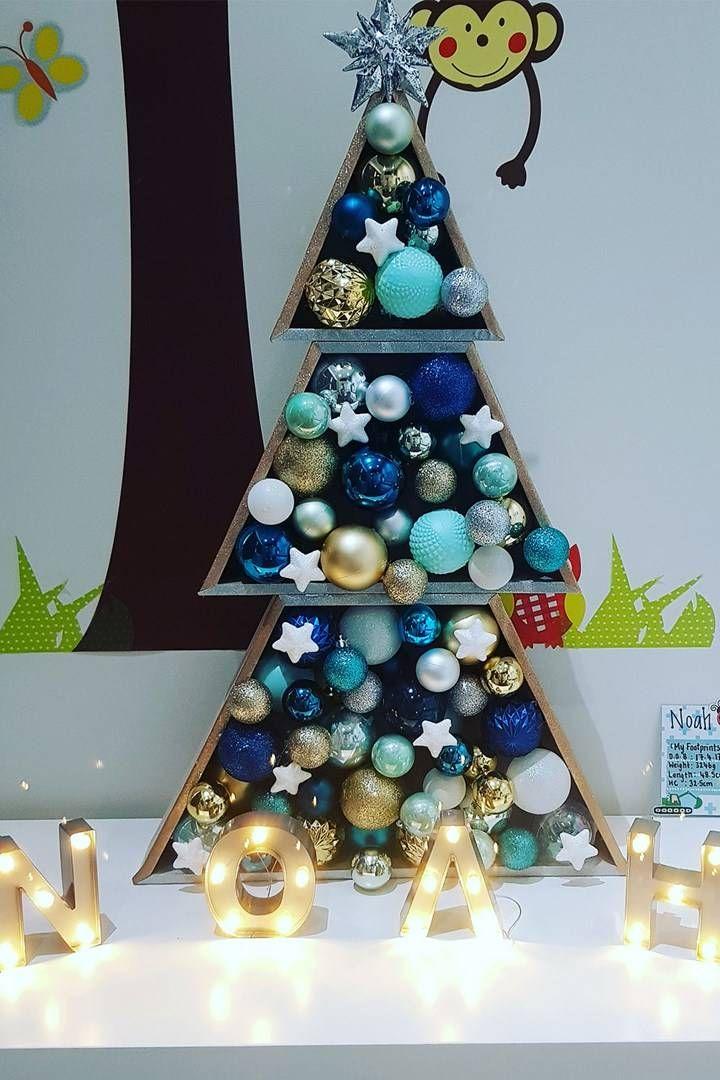$12 Kmart Christmas tree hack | Christmas | Pinterest | Christmas ...