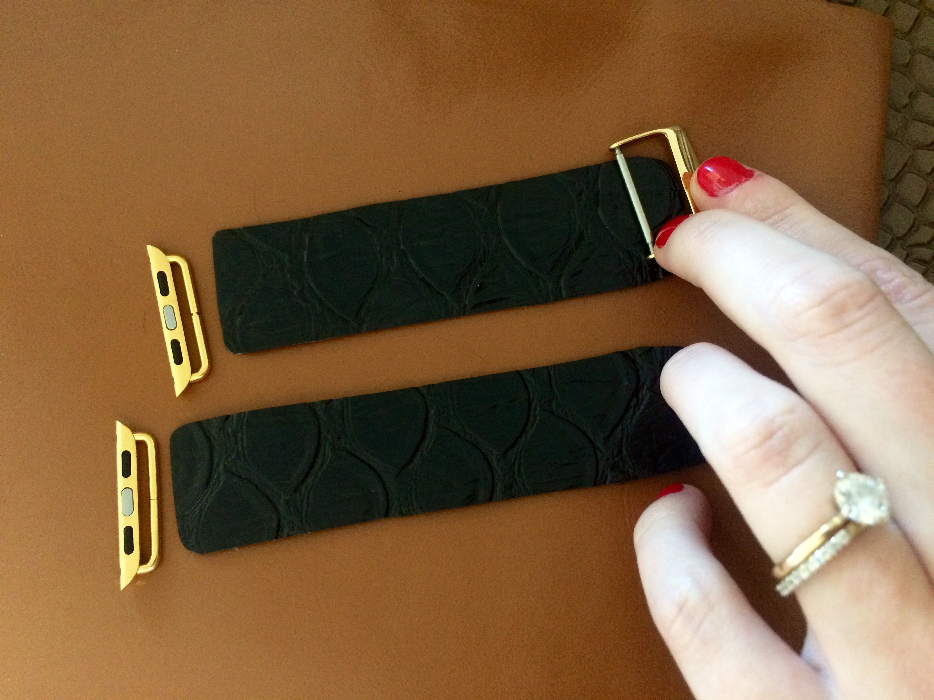 Diy Apple Watch Bands Diy Watch Band Apple Watch Bands Apple