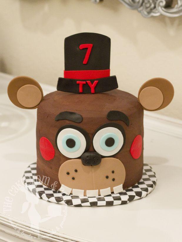 five nights at freddy birthday cake Five Nights at Freddy's birthday cake by The Cake Mom & Co. | By  five nights at freddy birthday cake