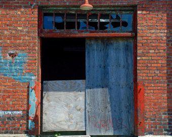 Puertas antigua fotografía arte urbano calle de la puerta