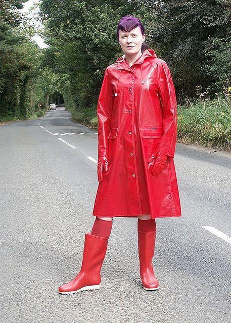 Pin von Wolle 64 auf Rainwear Regenmantel, Regenjacke