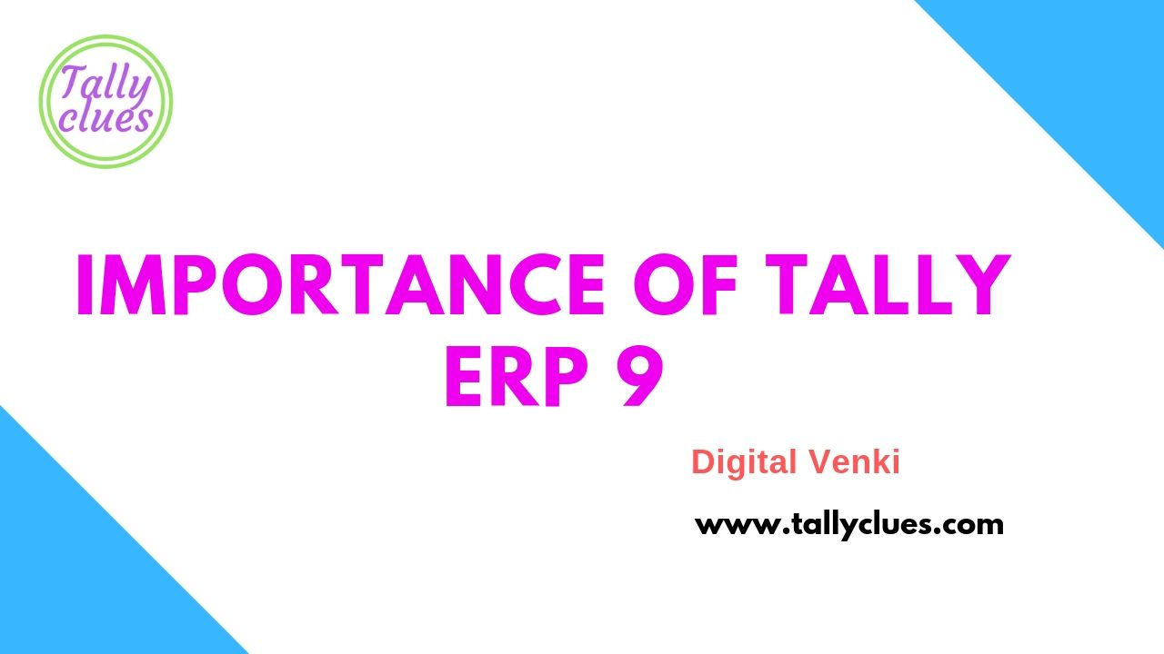 Hi Guys Here I Shared An Article On Tally Erp 9 Please Go Through