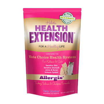 Vets Choice Holistic Health Extension Allergix Grain Free Cat Food All Natural Grain Free And Gluten F Dry Cat Food Food Animals Grain Free Cat Food
