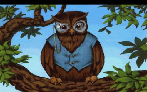 Cedric The Owl From King S Quest 5 This Brings Back Old Childhood Memories Owl Adventure Games Sierra Online