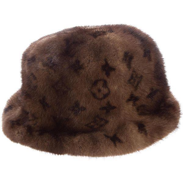 Pre-owned Louis Vuitton Monogram Mink Hat ( 1 569515906c4