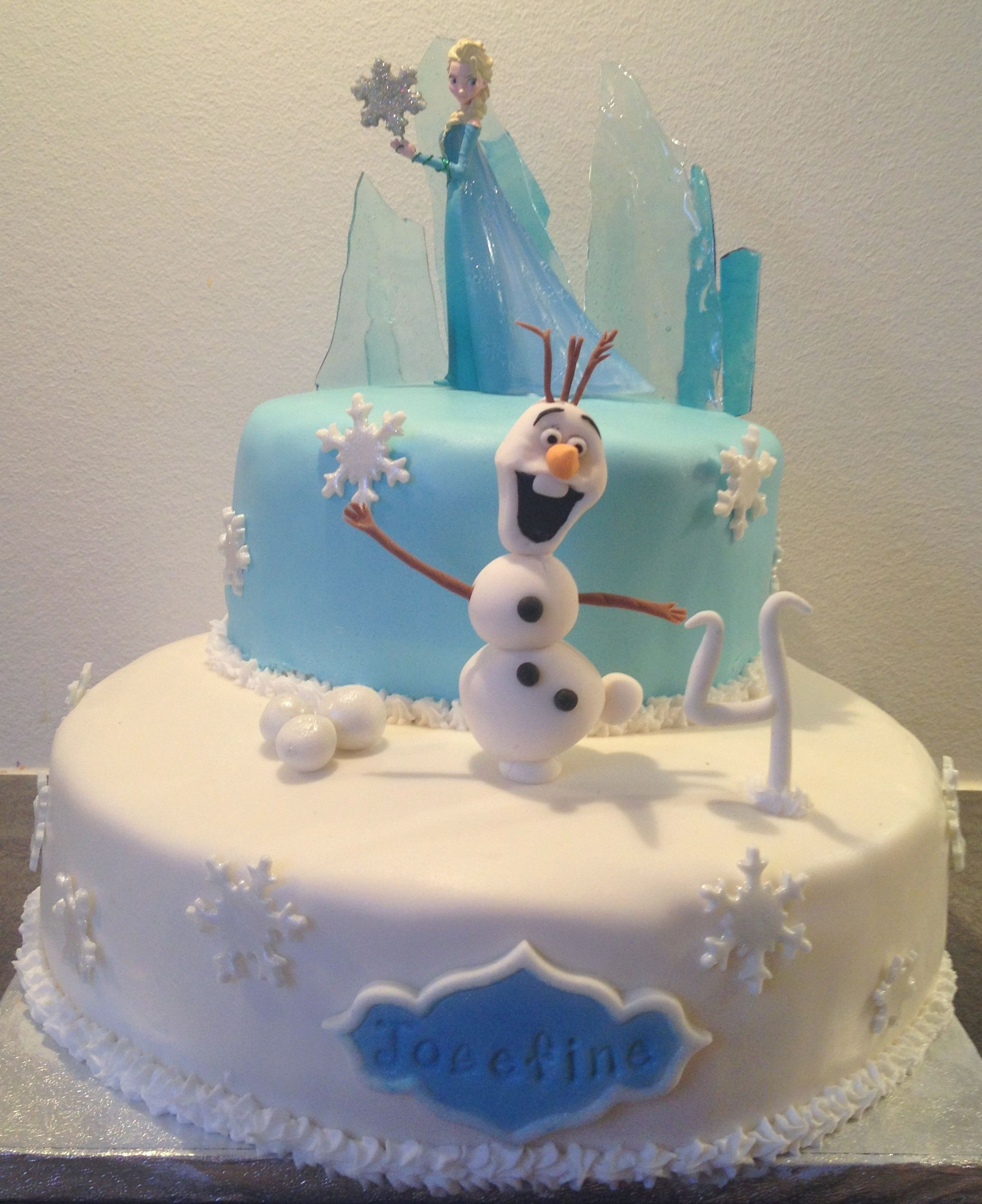 Every little girl's dreamcake atm ;) Frozen, need I say more?
