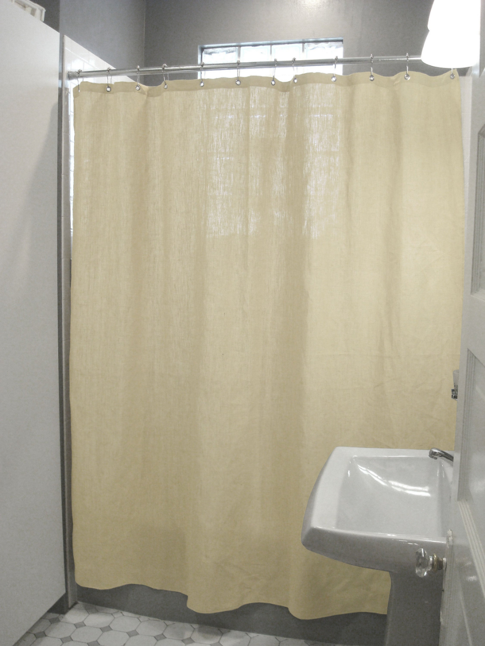 Hemp Shower Curtain Use With Or Without Liner Made In Usa