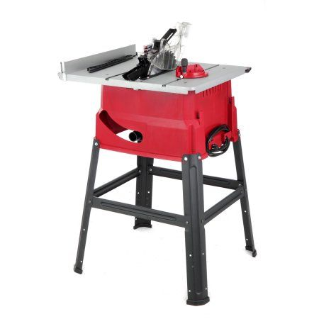 Hyper Tough 15 Amp 10 Inch Table Saw Stand Aq14992g Walmart Com Portable Table Saw 10 Inch Table Saw Table Saw