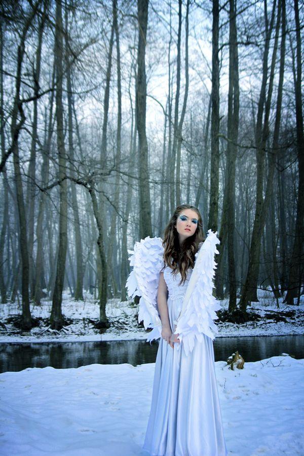 Snow Angel by Nadja Berberovic, via Behance