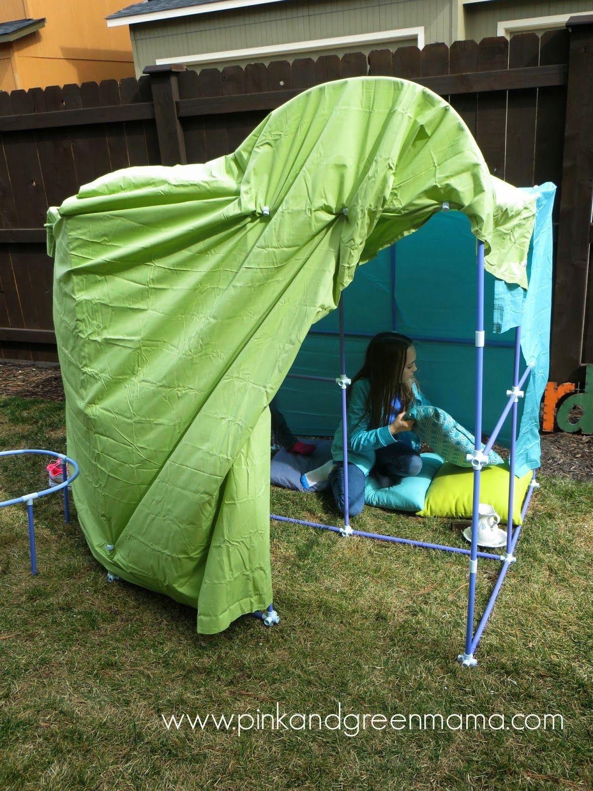 backyard-tent-fort-sheets-play-outdoor-fun-fort-magic ...