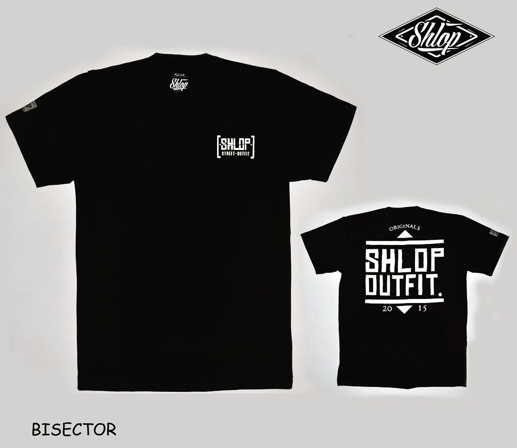 Shlop Bisector T-shirt - Black, 120.000