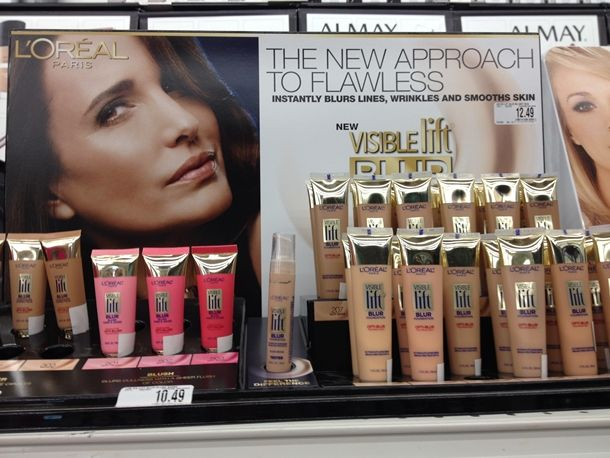 LOreal Visible Lift Blur Collection