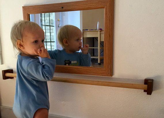 Montessori Pull Up Bar for Infants   Bebé, Diseño de sala de juegos ...