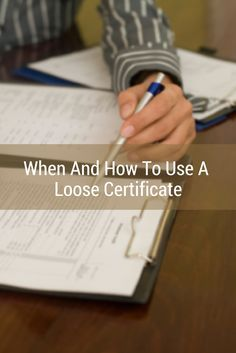 What if the document you're notarizing doesn't include the correct notarial certificate wording? Find out what you should do here!