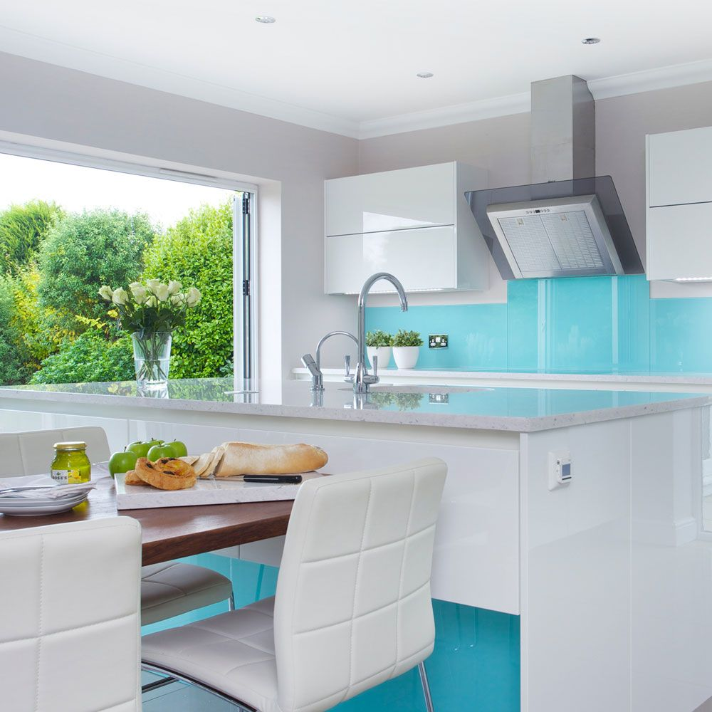 Kitchen extension ideas | Modern white kitchens, Extensions and ...
