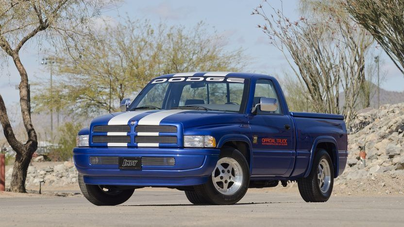 1996 Dodge Ram Indy Pace Truck 12 Ram Trucks Ram Trucks 1500 Dodge Trucks Ram