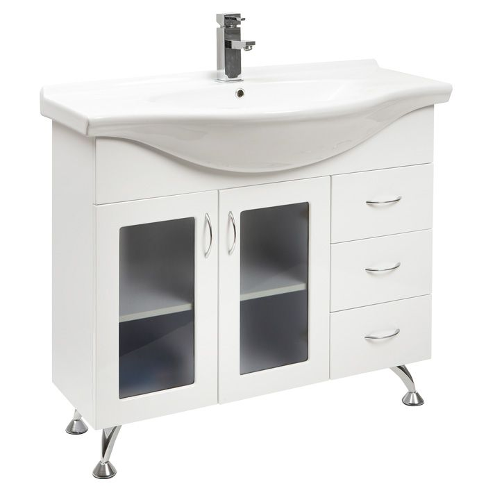 Here S Jade 1000 Sr Bathroom Vanity Gl Doors Legs From