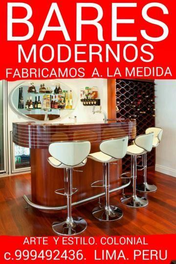 Bares Modernos Coloniales Peruanos Fabrico Diseno Lima Peru Categoria Avisos Clasificados Gratis Avisos Clas Bar En Casa Bares En Casa Pequenos Bar Moderno