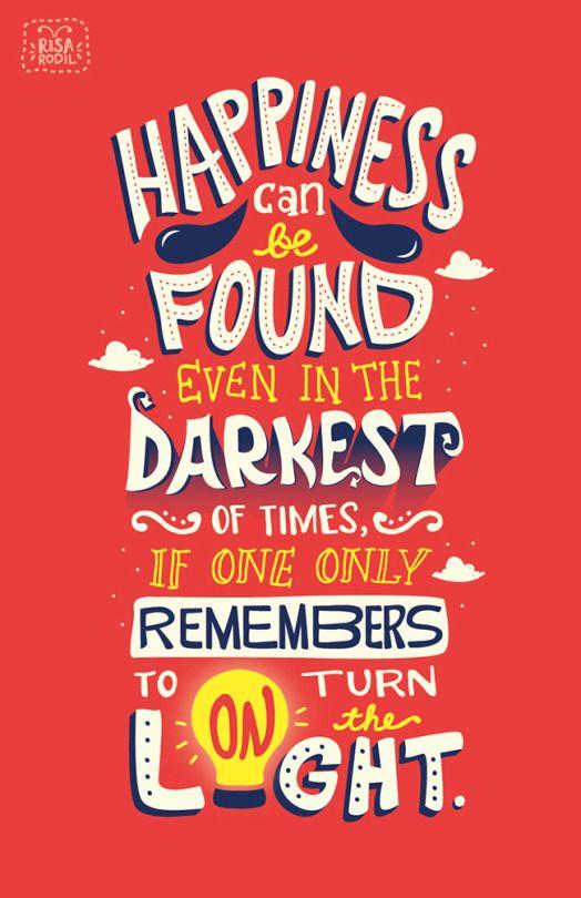 Albus Dumbledore Typography Quotes Disney Poster Graphic