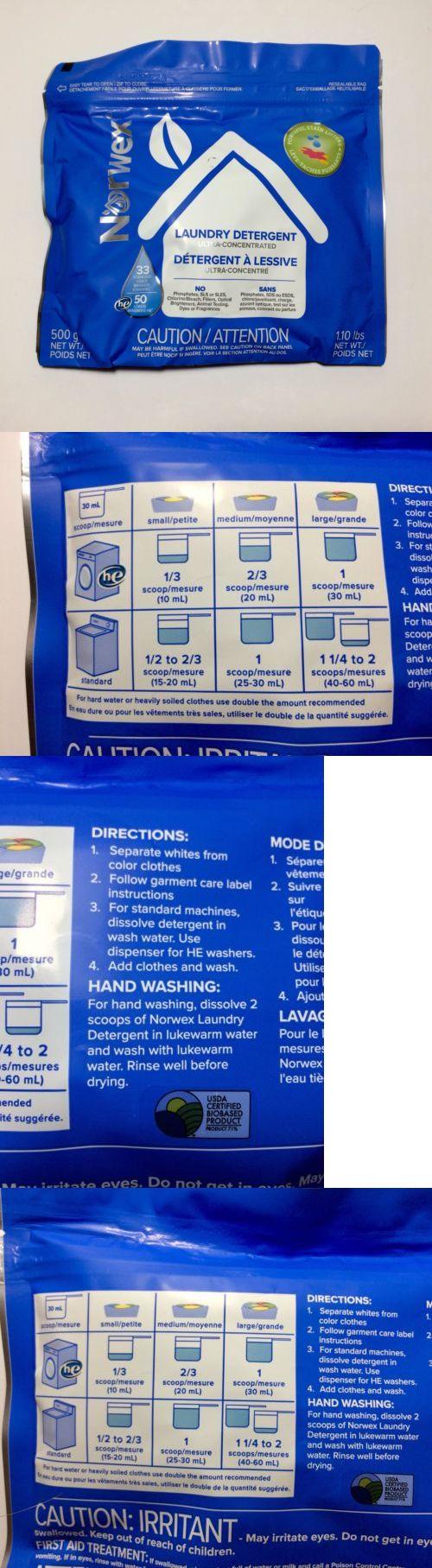 Detergents 78691 Norwex Laundry Detergent Powder
