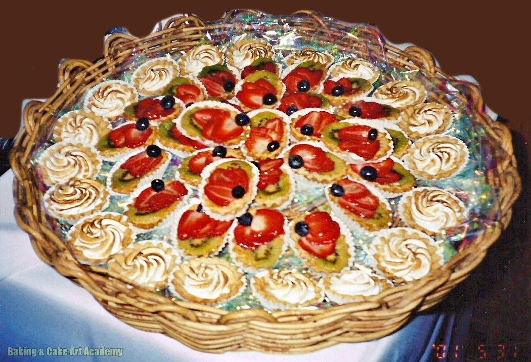 Lemon Meringue And Fresh Fruit Tartlets Baking Cakes Decoration Cake Decorating Classes No Bake Cake