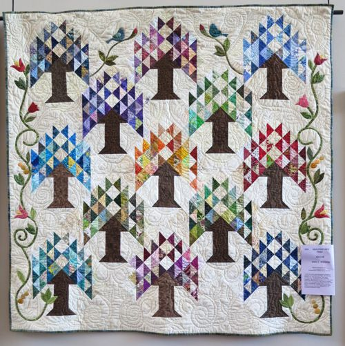 Tree Of Life Quilt Pattern Tree Of Life By Ann Rindge