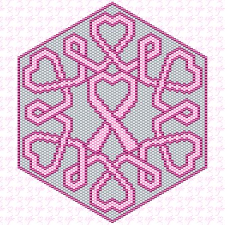 Ravelry Crochet Ribbon Pink Awareness Love Cross Stitch Cool Ribbon Pattern