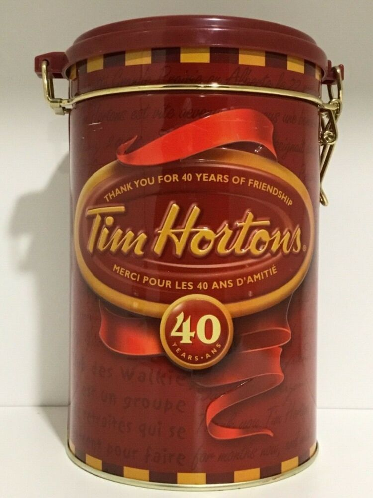 Tim Hortons Limited Edition 4 40 Years of Friendship