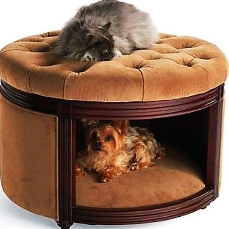Pet Ottoman Den Pets Animal Decor Cat Decor